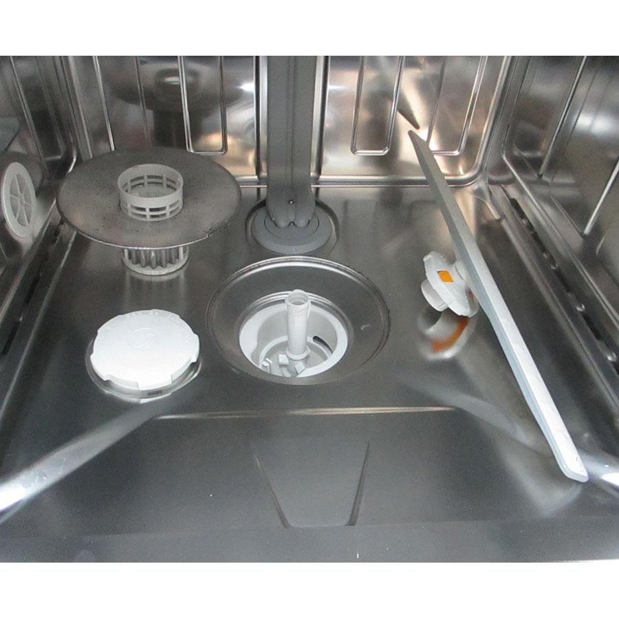 Miele G 7312 SC - Réservoir à sel et retrait du filtre