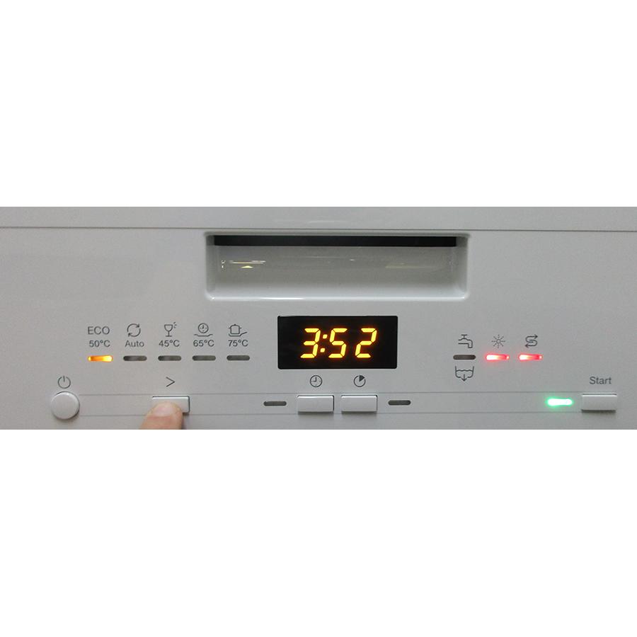 Miele G5002SC - Touches de commandes