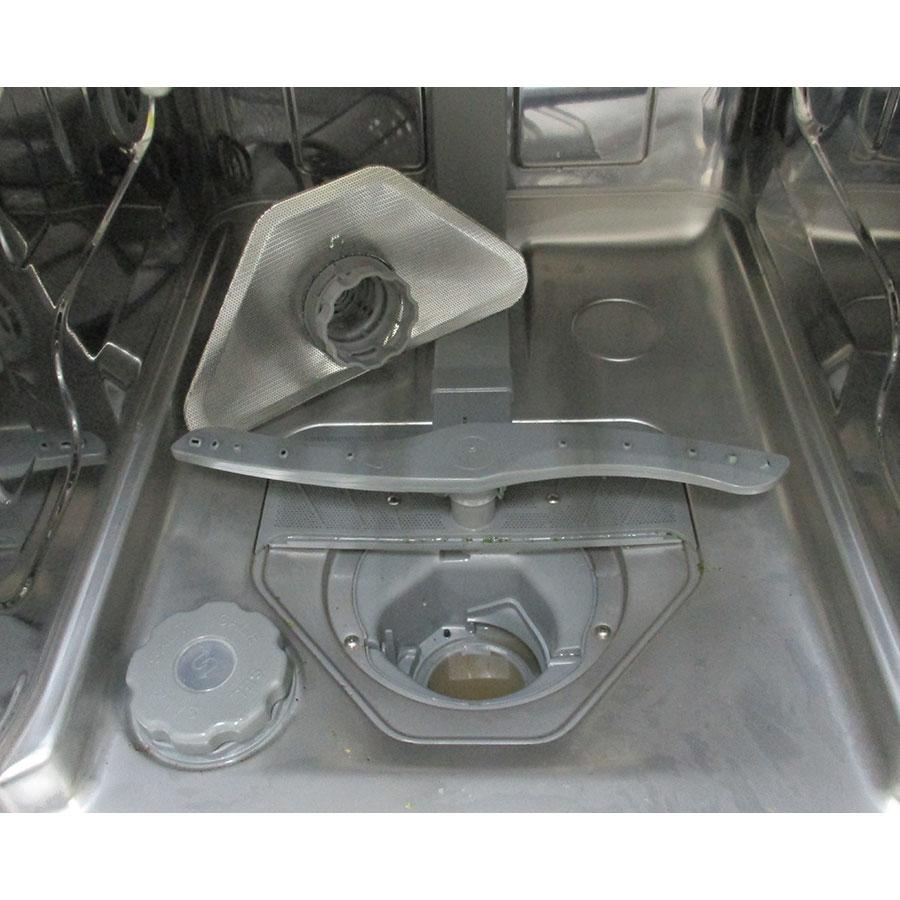 Saba LV10C44MINIPLIX - Réservoir à sel et retrait du filtre