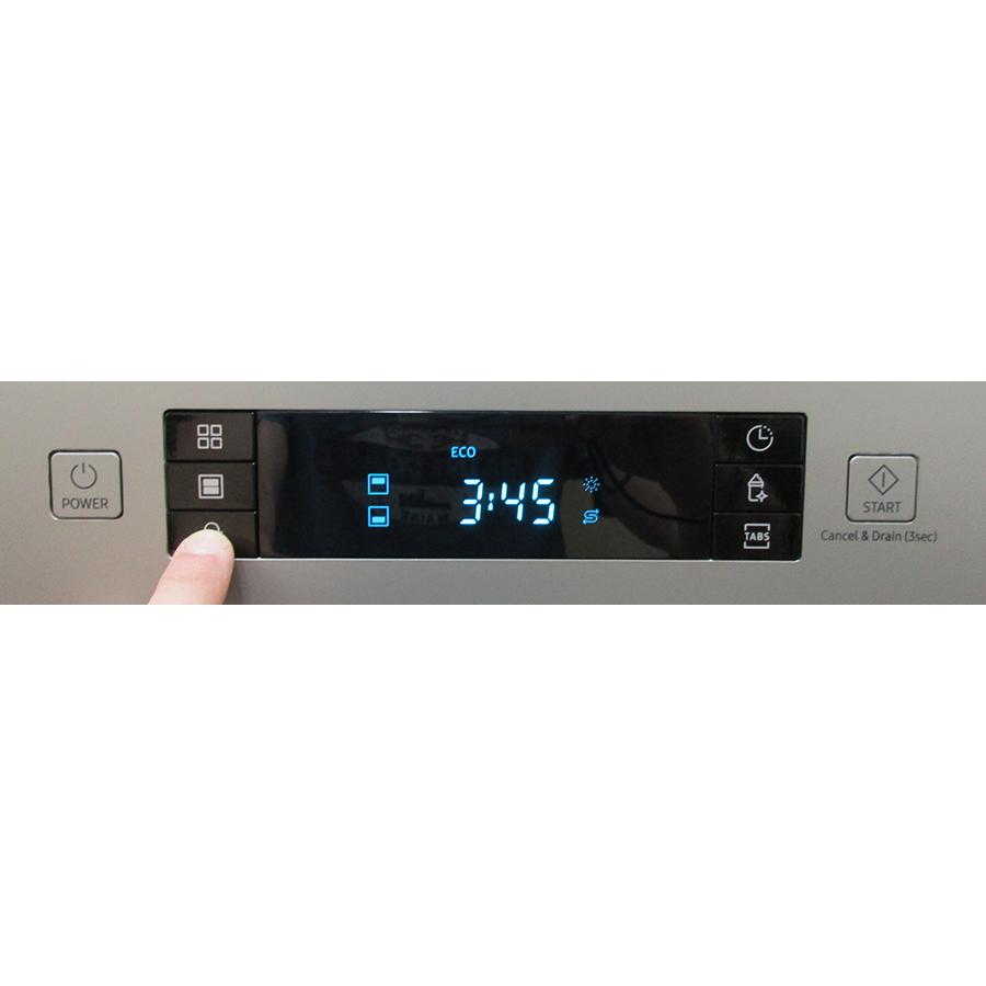 Samsung DW60M6050FS - Touches de commandes