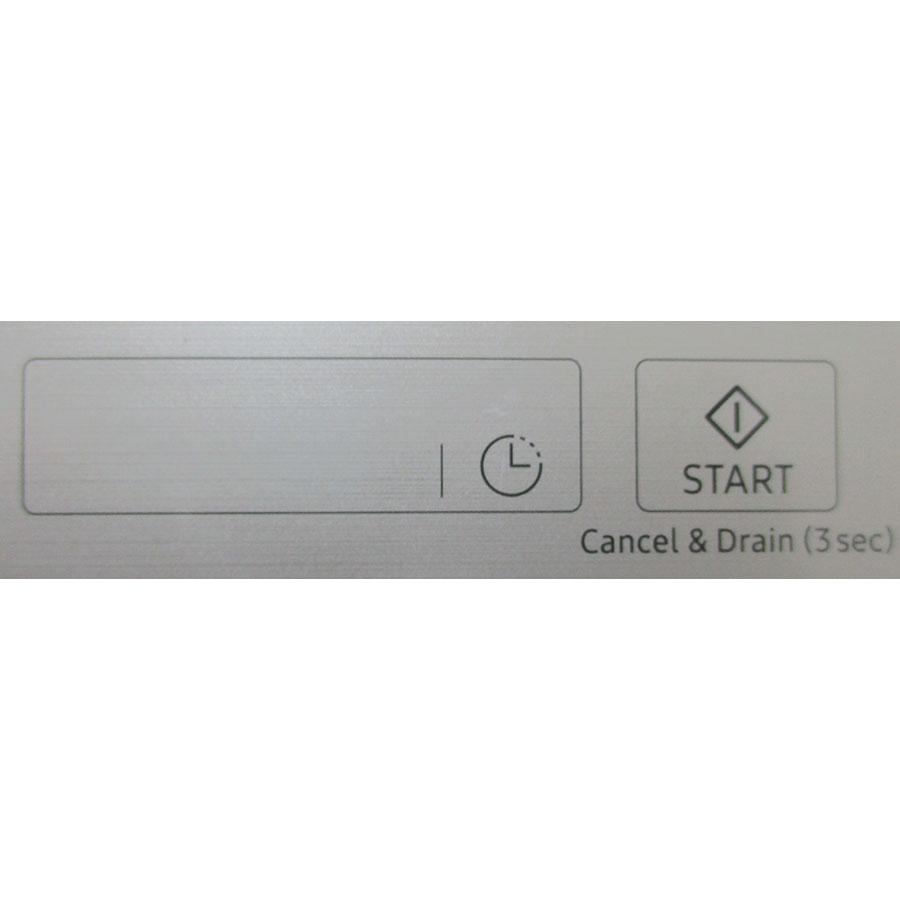 Samsung DW60M9550FSEF Waterwall - Touches de commandes
