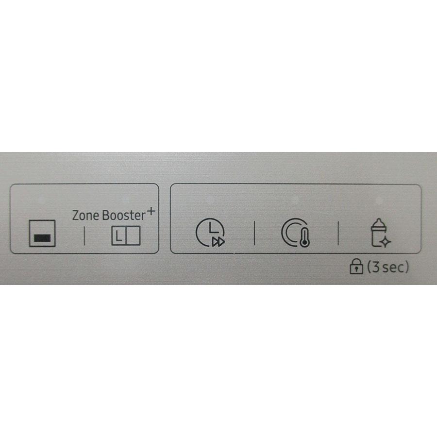 Samsung DW60M9550FSEF Waterwall - Boutons des programmes