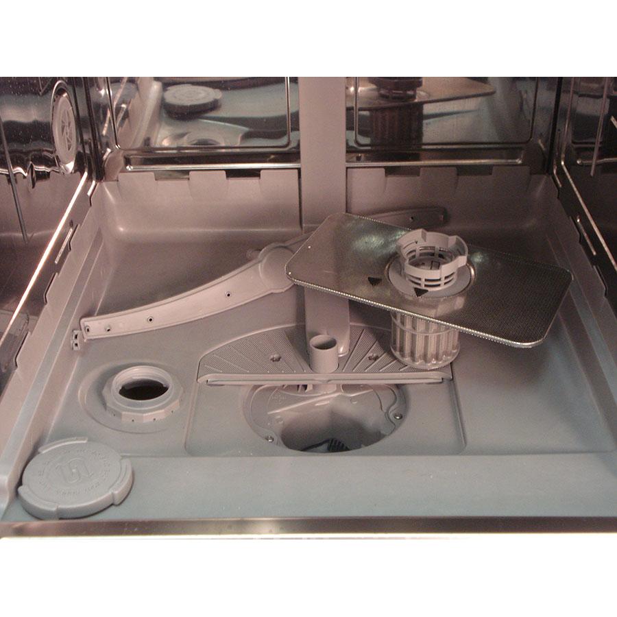 Siemens SN236I01KE - Réservoir à sel et retrait du filtre