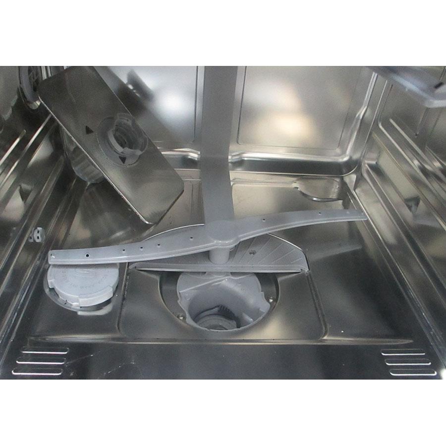 Siemens SN236I04NE - Réservoir à sel et retrait du filtre