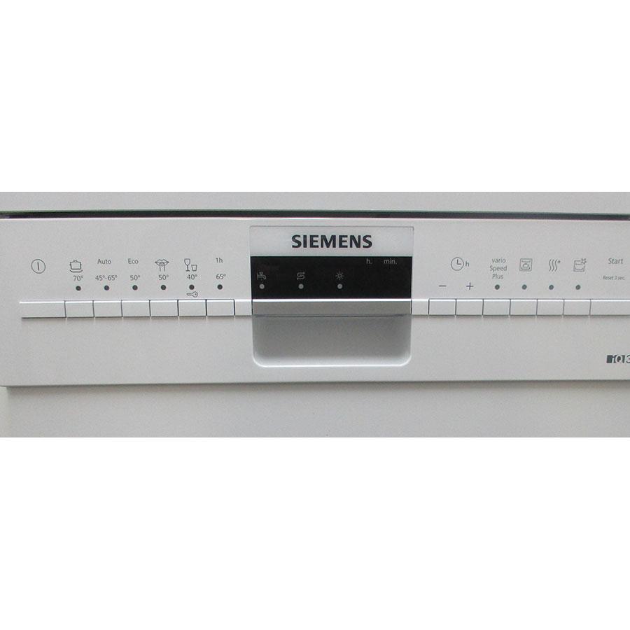 Siemens SR236W01ME - Bandeau de commandes