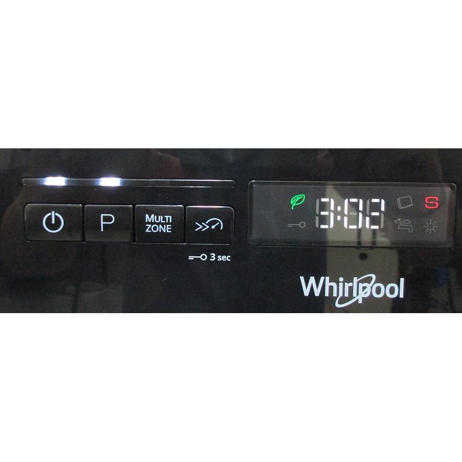 Whirlpool WFO3O41PLX - Affichage digital