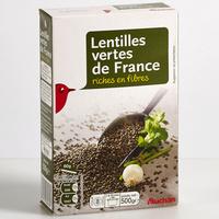 Auchan Lentilles vertes de France