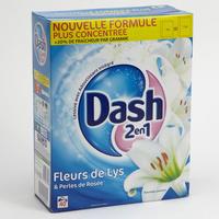 Dash 2 en 1 Fleurs de lys et perles de rosée