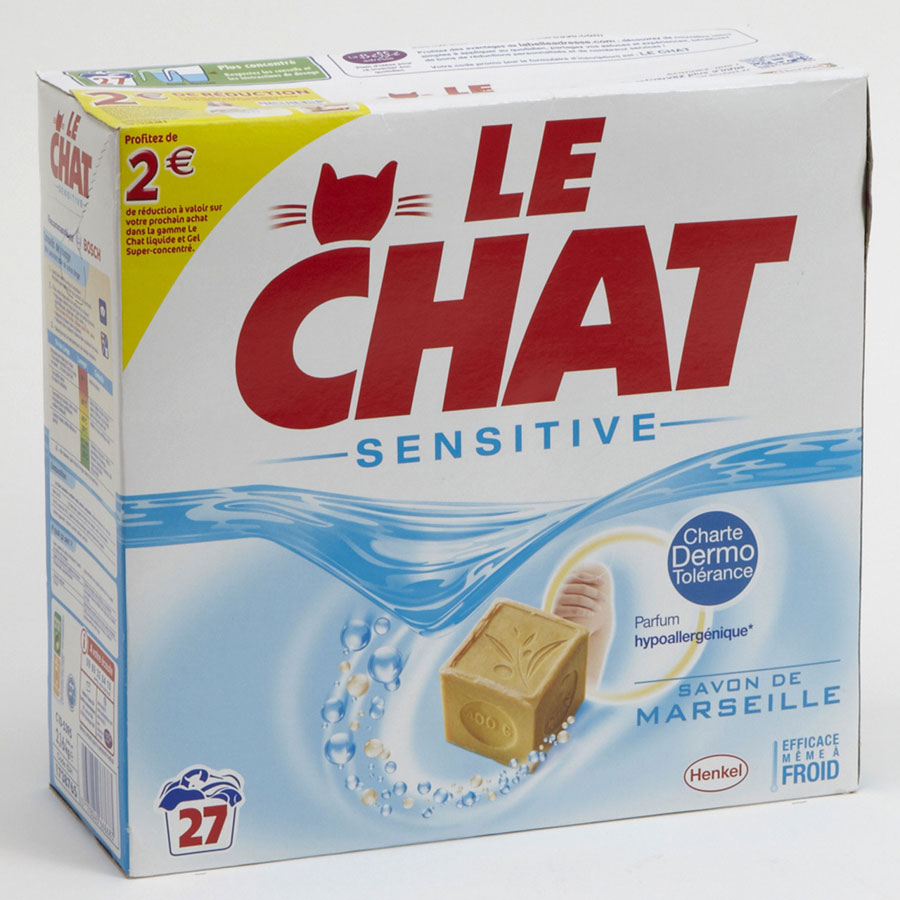 Le Chat Sensitive au savon de Marseille -