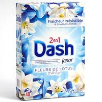 Dash 2 en 1 Fleurs de lotus & lys