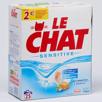 Le Chat Sensitive lait d'amande douce et Marseille