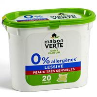 Maison verte 0% allergènes peaux très sensibles