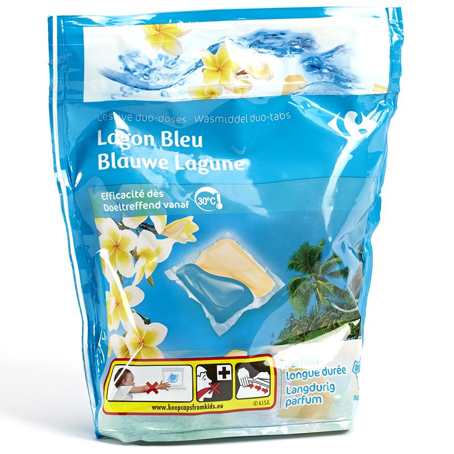 Carrefour Duo-doses Lagon bleu -