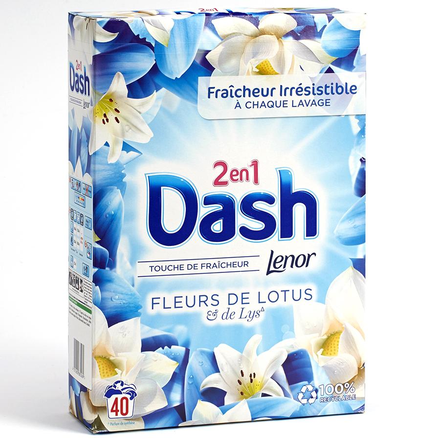Dash 2 en 1 Fleurs de lotus & lys -