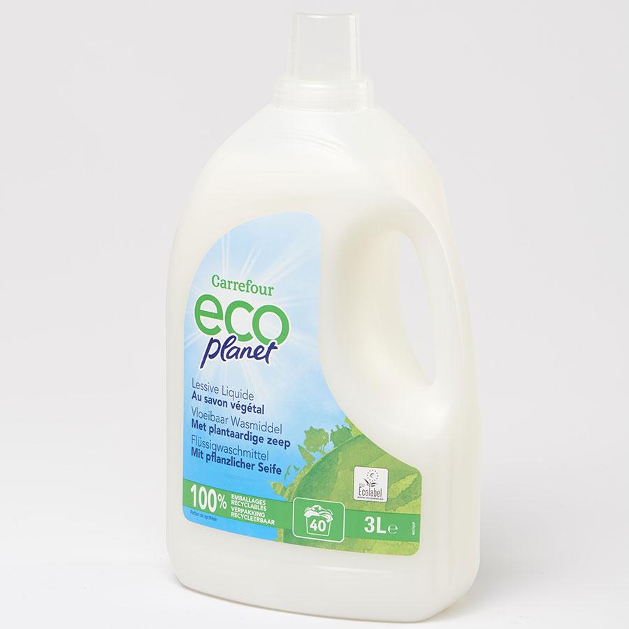 Ecoplanet (Carrefour) Au savon végétal -