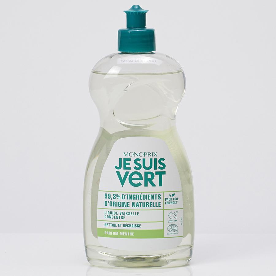 Monoprix Je Suis Vert concentré parfum menthe  -