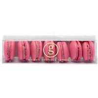 George Larnicol Boîte de 7 macarons framboise