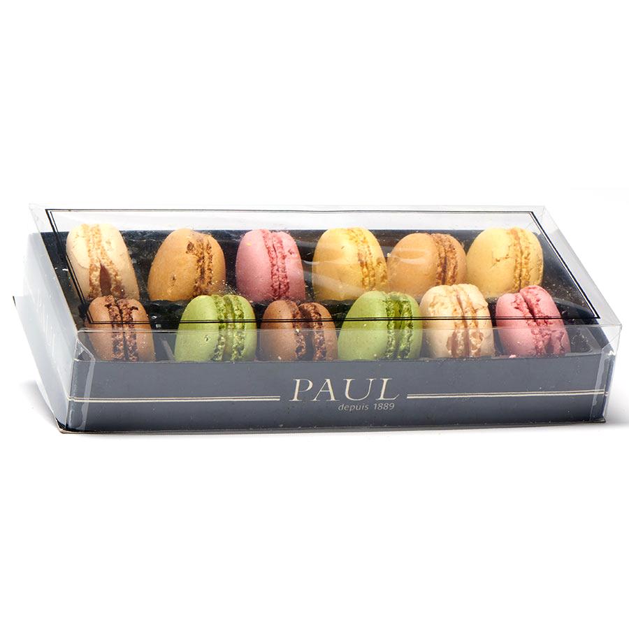 Paul Boîte de 12 macarons assortis -