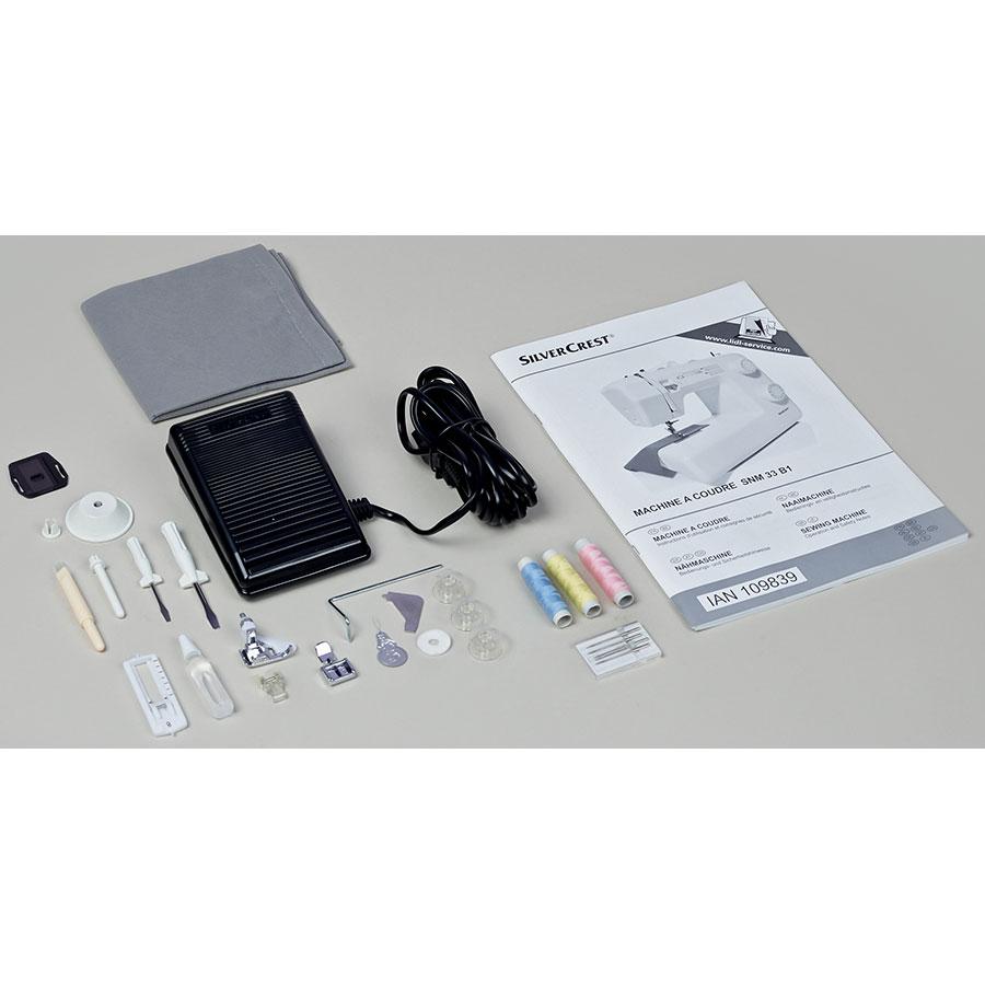 Silvercrest (Lidl) SNM 33B1 - Accessoires fournis