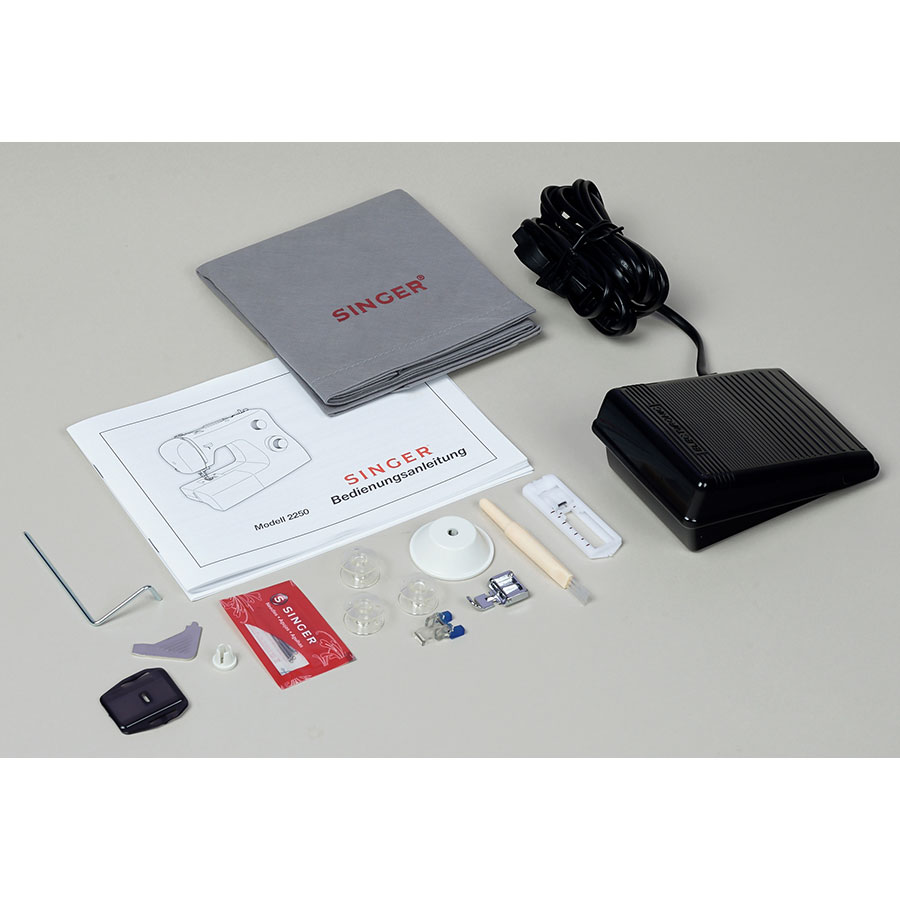 Singer Tradition 2250 - Accessoires fournis