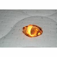 Dorsoline Nassau(*11*) - Résultat du test d'inflammabilité avec une allumette