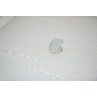 Epeda Asteria - Résultat du test d'inflammabilité avec une allumette