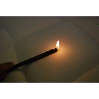 Epeda Asteria - Test d'inflammabilité effectué avec une allumette