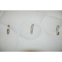 Epeda Asteria - Test d'inflammabilité : trois cigarettes sont allumées et placées sur le matelas