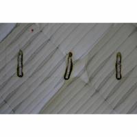 Epeda Égérie - Test d'inflammabilité : trois cigarettes sont allumées et placées sur le matelas