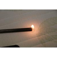 Le matelas Vert  - Test d'inflammabilité effectué avec une allumette