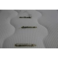 Signature Bel air(*4*) - Test d'inflammabilité : trois cigarettes sont allumées et placées sur le matelas