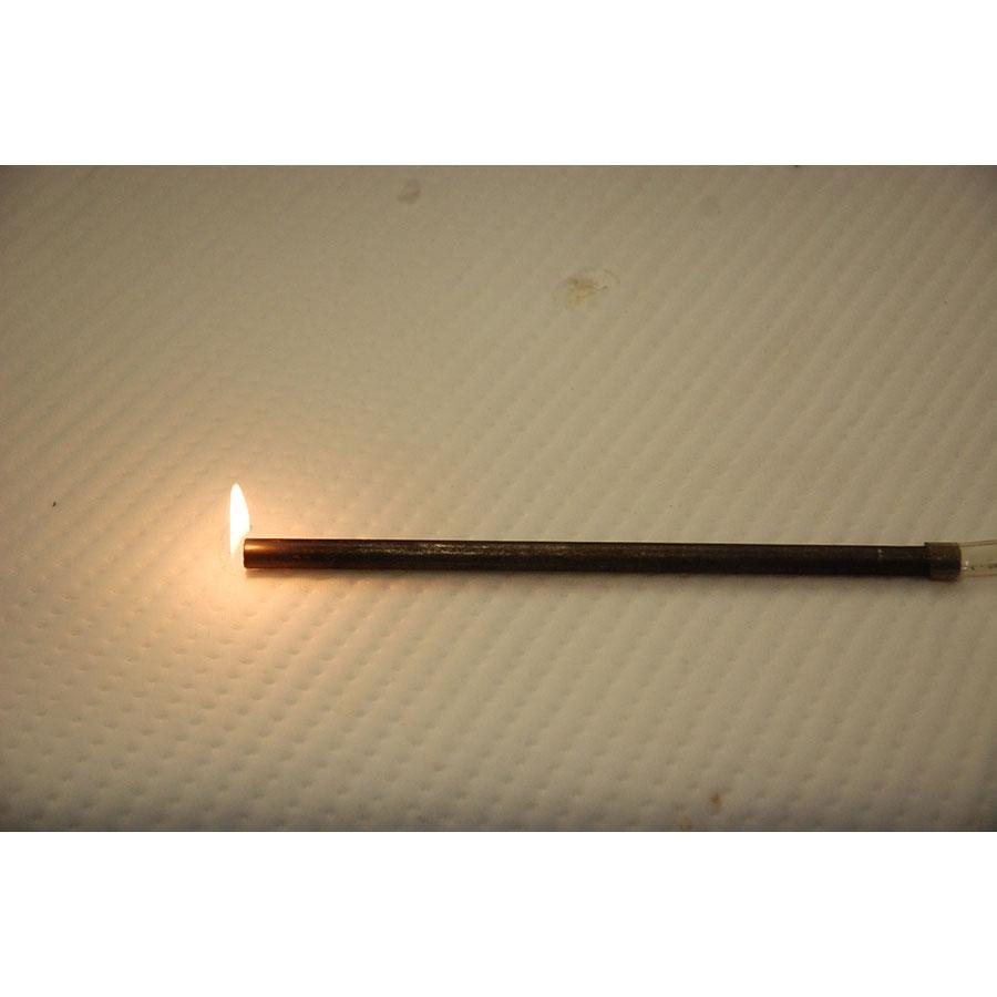 Casper Le Casper(*17*) - Test d'inflammabilité effectué avec une allumette