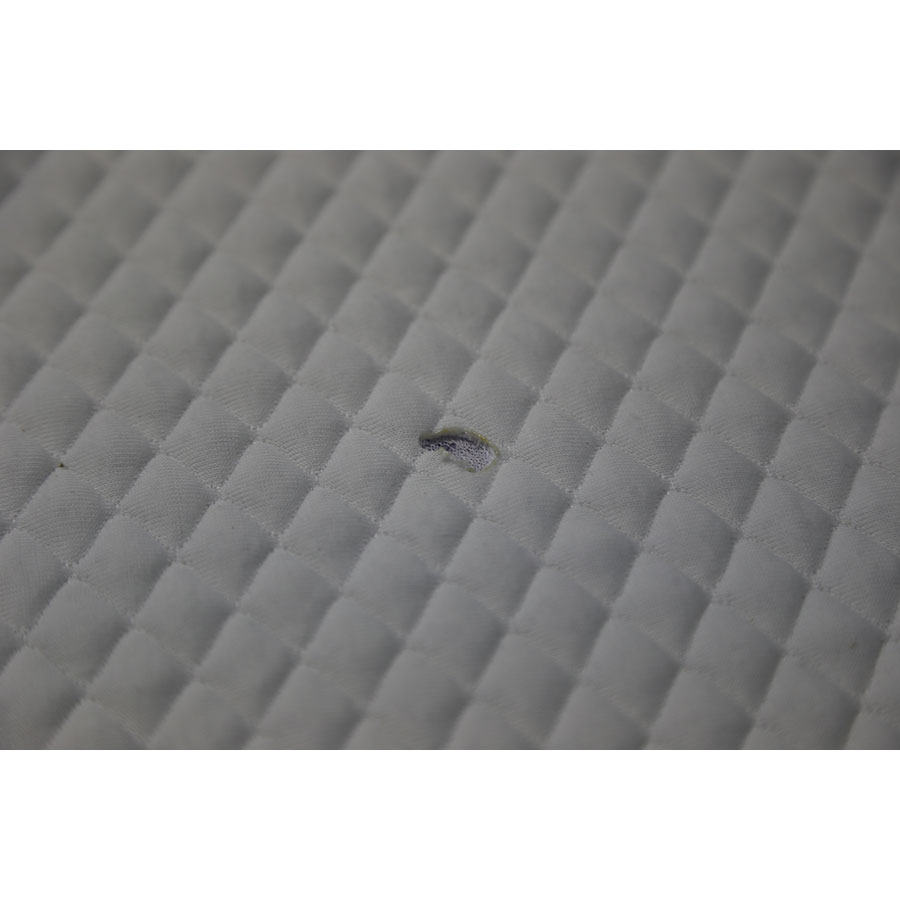 Sealy Hybrid classic(*20*) - Résultat du test d'inflammabilité avec une allumette
