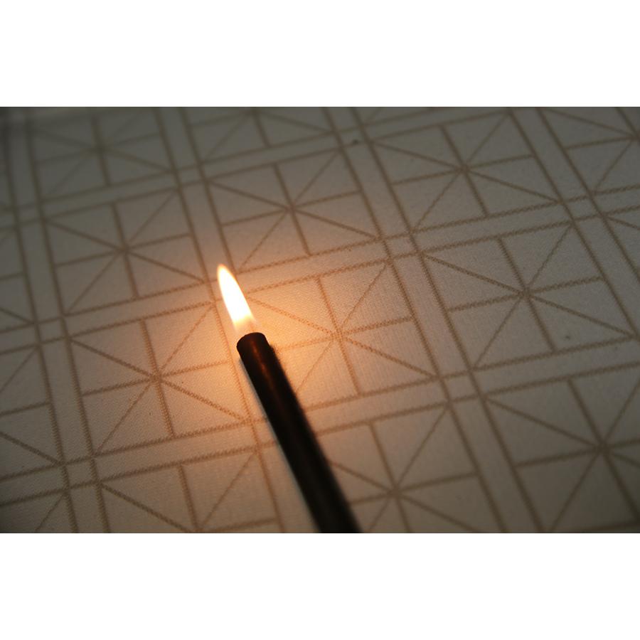 Treca Fleur de Coton - Test d'inflammabilité effectué avec une allumette