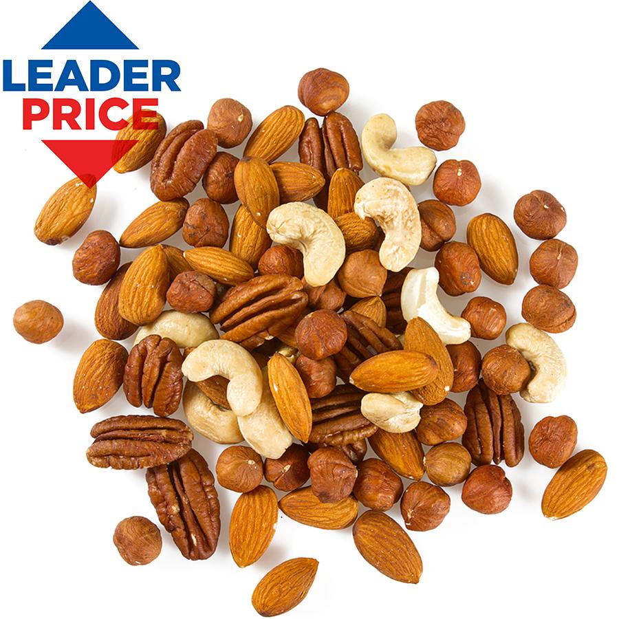 Mélange apéritif croquant Leader Price -