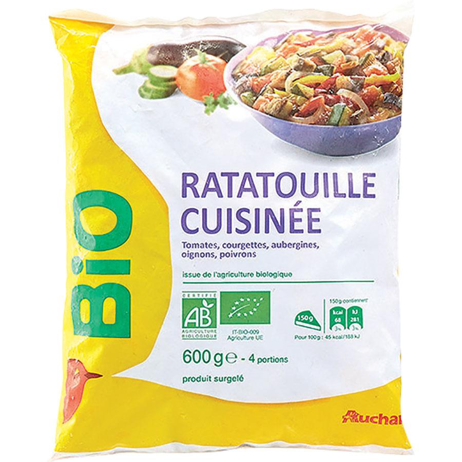 Auchan Bio Ratatouille cuisinée -