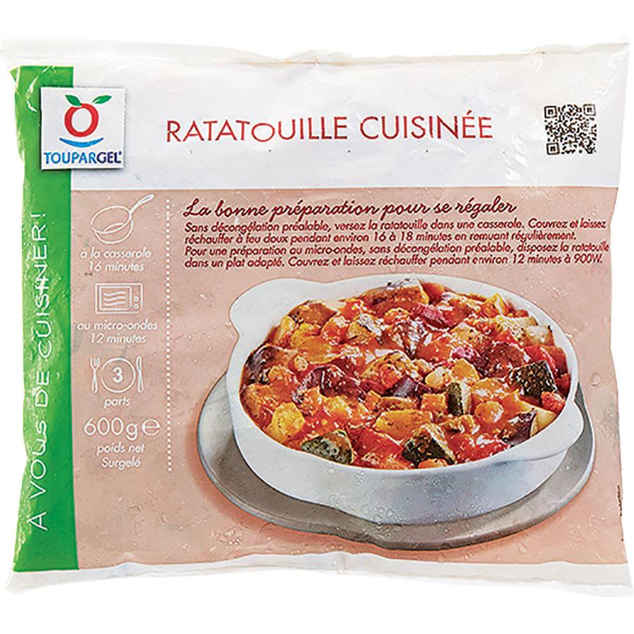 Toupargel Ratatouille cuisinée -