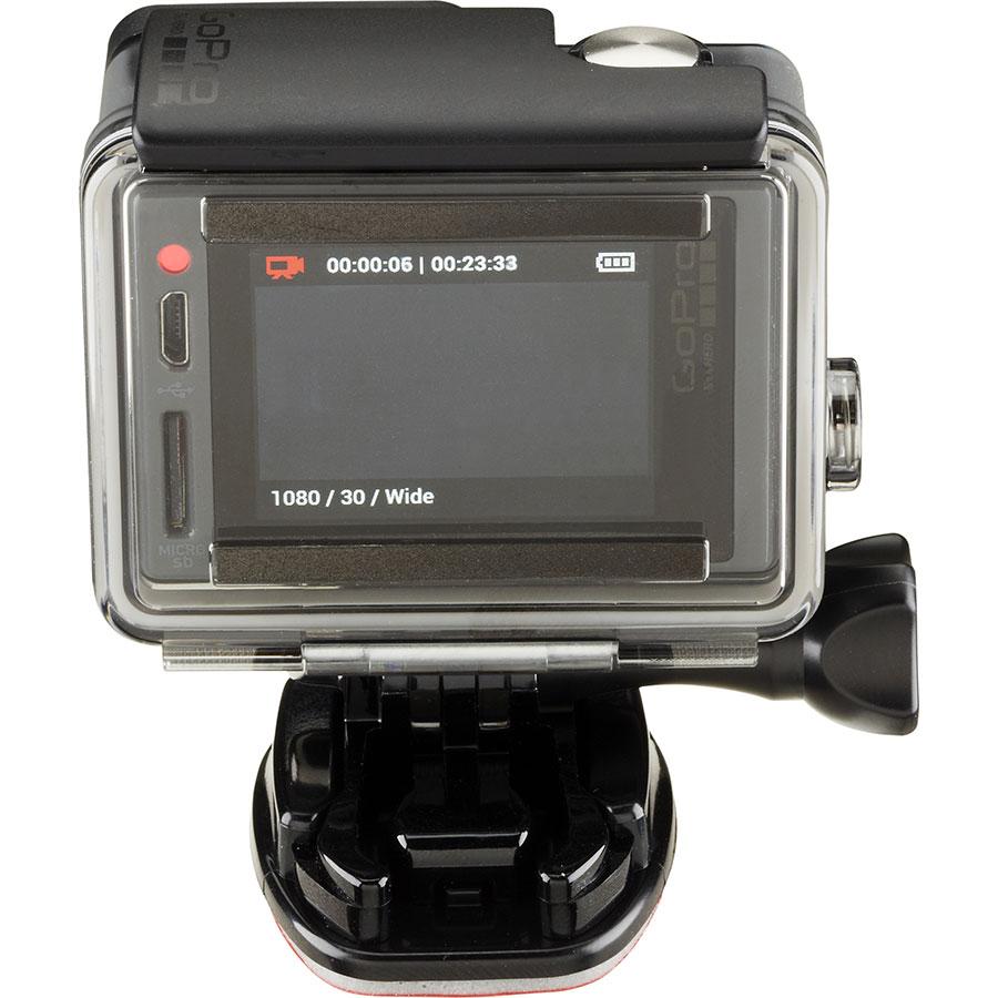 GoPro Hero+ LCD - Vue de dos
