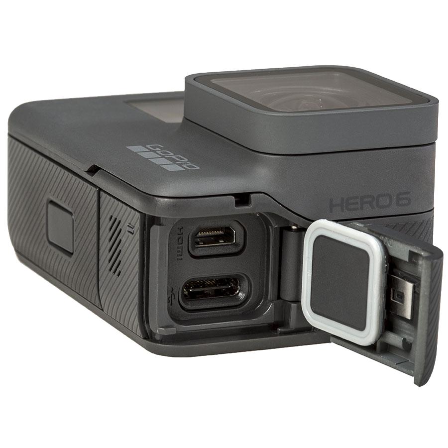 GoPro Hero6 Black - Connectique