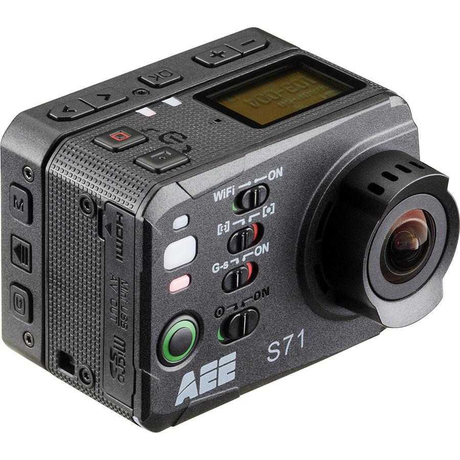 PNJ Cam AEE S71 - Vue de dos