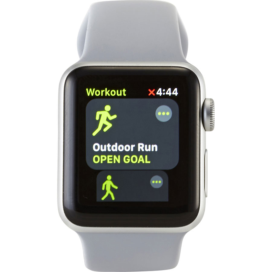 Apple Watch Series 3 Cellular - Ecran d'appli sport