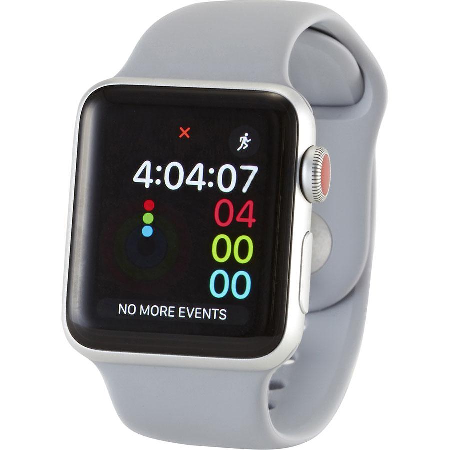 Apple Watch Series 3 Cellular - Vue de 3/4