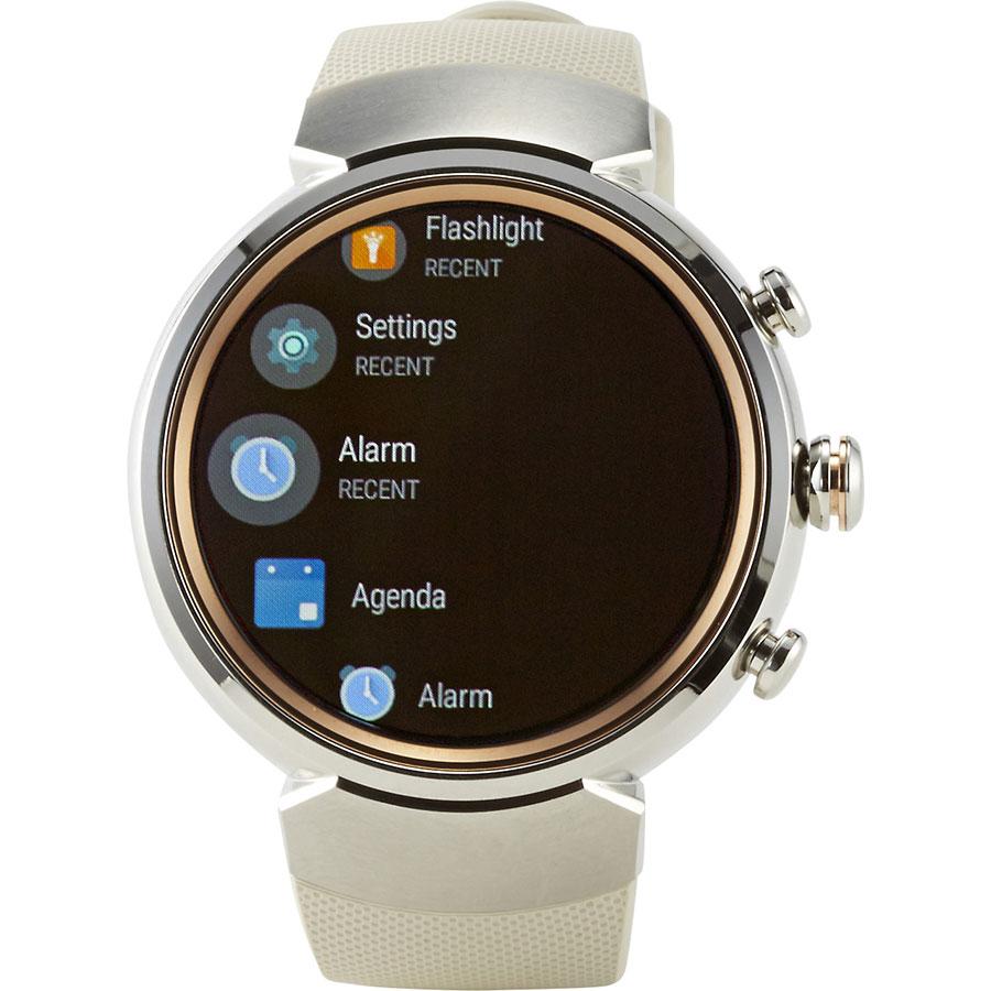 Asus Zenwatch 3 - Écran de commandes