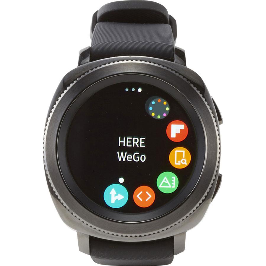 Samsung Gear Sport - Écran de commandes