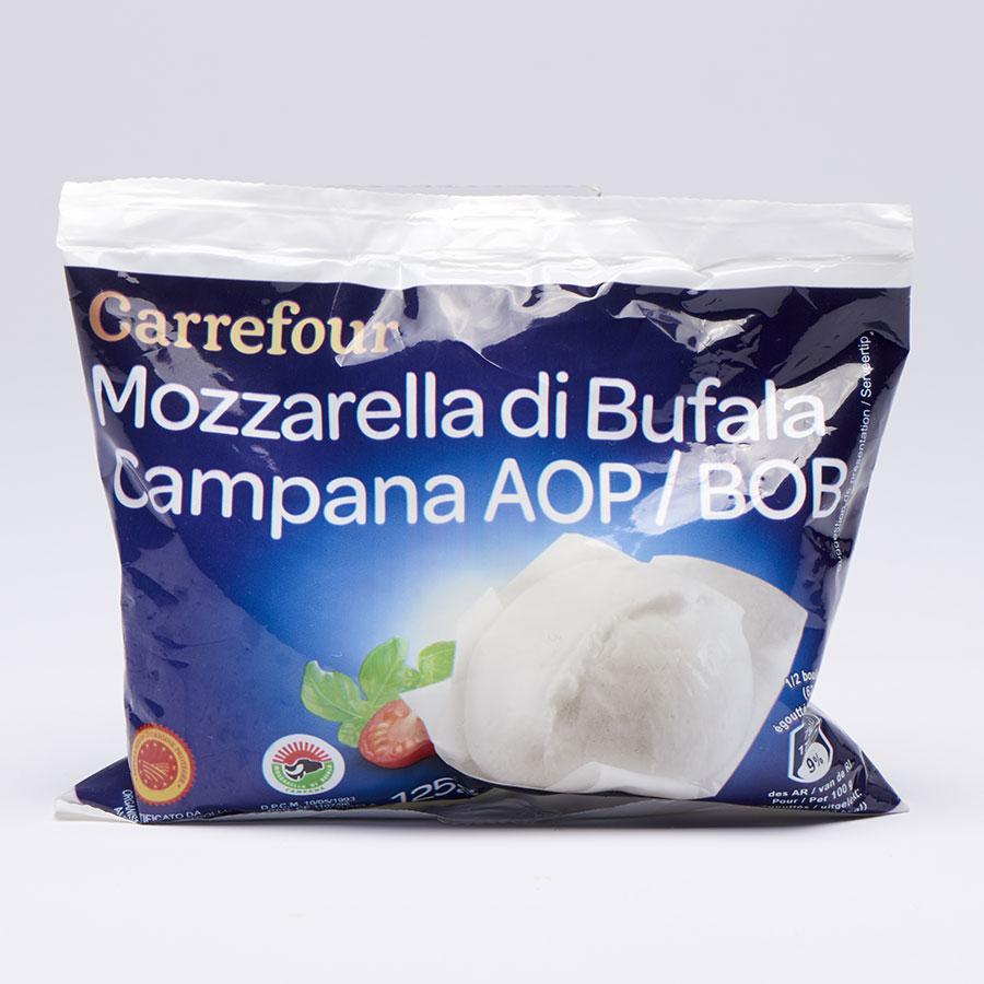 Carrefour Mozzarella di Bufala Campana -
