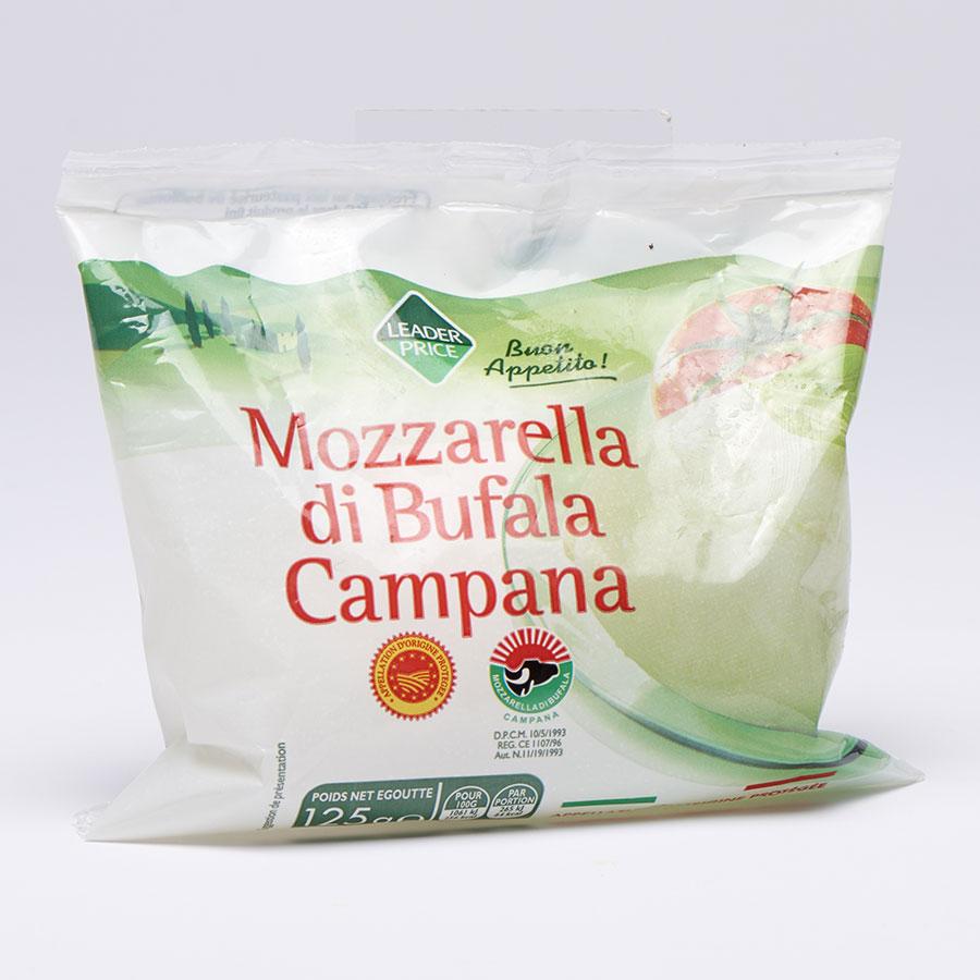 Leader Price Mozzarella di Bufala Campana -