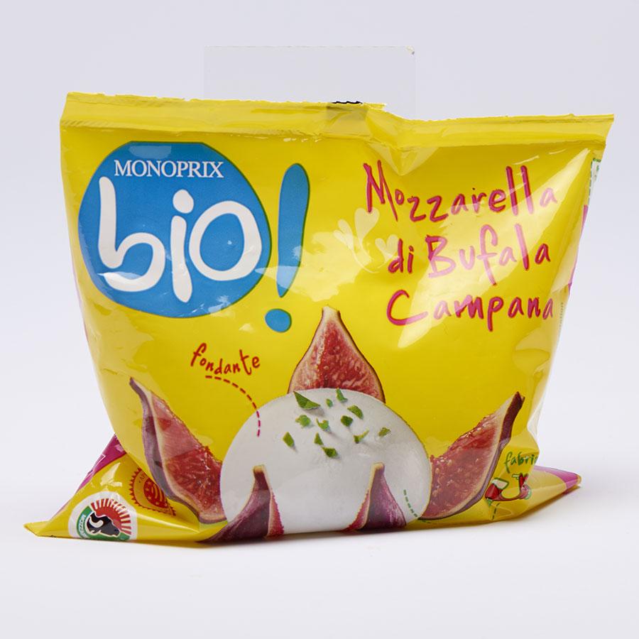 Monoprix Mozzarella di Bufala Campana Bio -