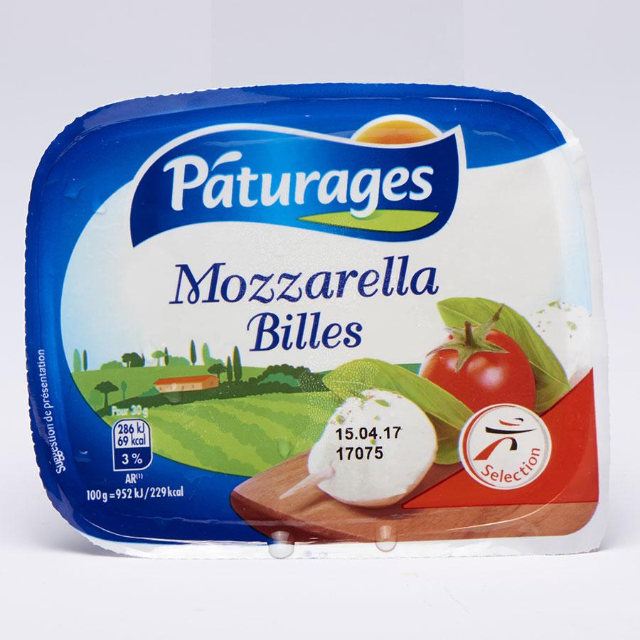Pâturages (Intermarché) Mozzarella billes -