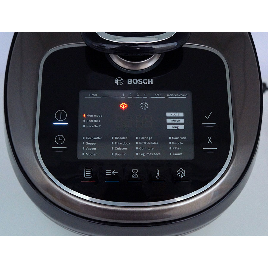 Bosch Autocook Pro MUC88B68 - Bandeau de commandes