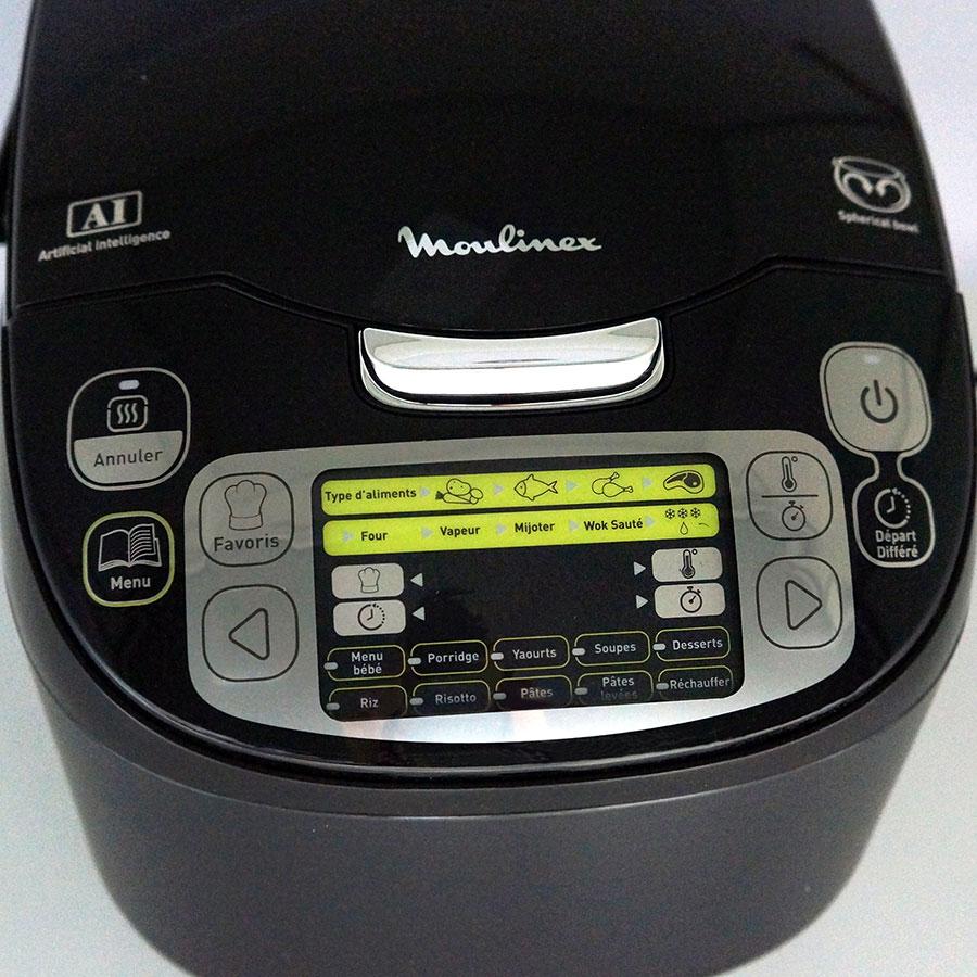 Moulinex MK815800 - Bandeau de commandes